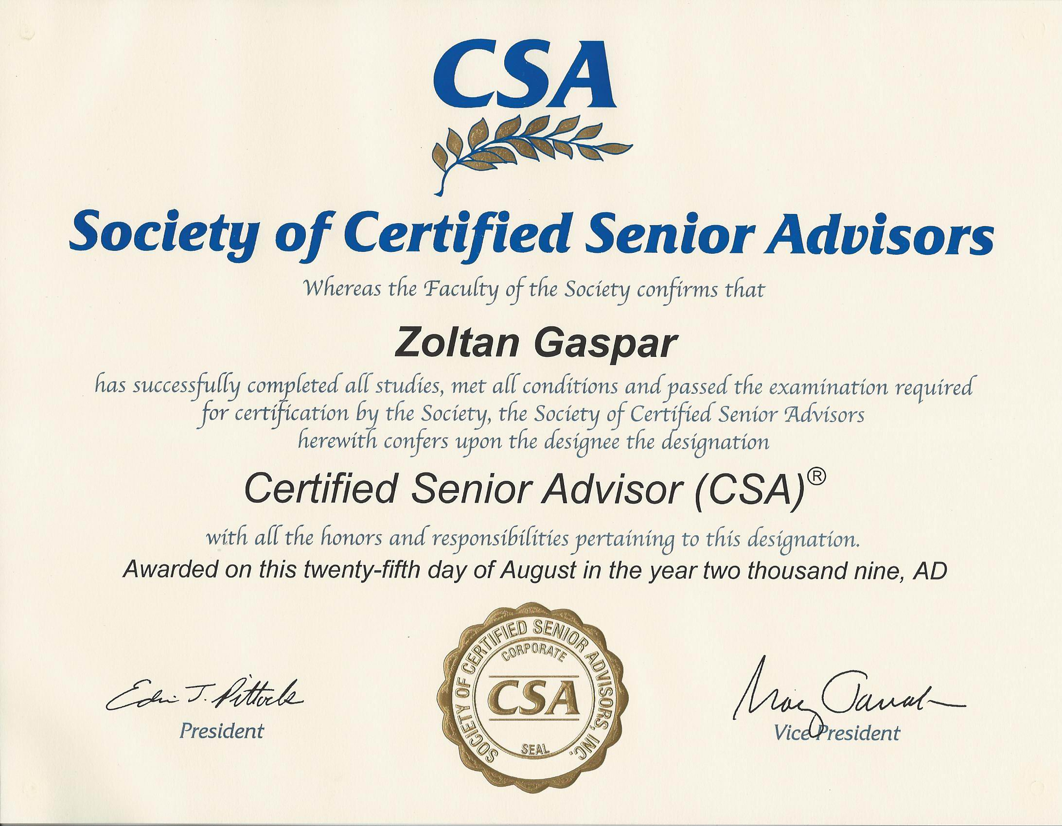 Certifications of optimum senior care it is insured and bonded member of the home care association of america hcaoa national private duty association npda and accredited by the better xflitez Images